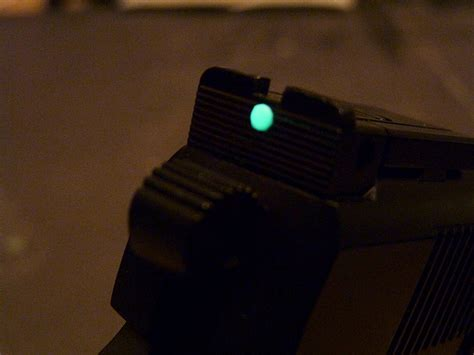 glow in the paint for gun sights the most basic gun sights can glow in the
