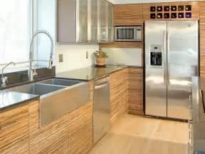 contemporary kitchen with bamboo cabinetry this alan tanksley sxgnd hgtvcom
