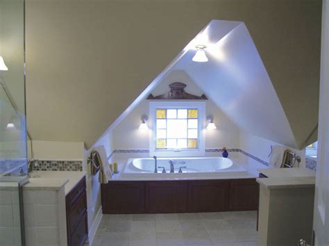 attic build out for new master bathroom wiley designs