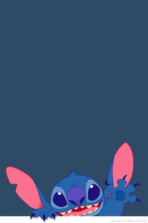 wallpaper cartoon stitch blue cartoon cute disney hipster indie iphone