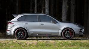 mansory cars 2015 2015 mansory porsche cayenne turbo side hd wallpaper 10