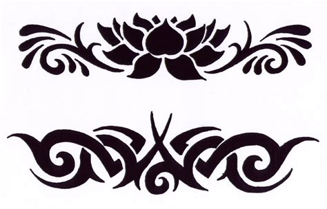 prince tattoo tribal horizontal