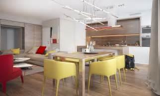 creative yellow dining chairs interior design ideas