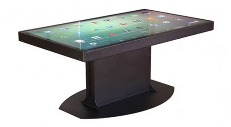 Smart Table by 187 Smart Table Based On Windows And Android Future Technology