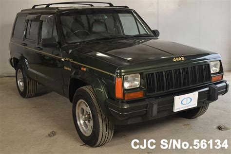 japanese jeep 1995 chrysler jeep green for sale stock no