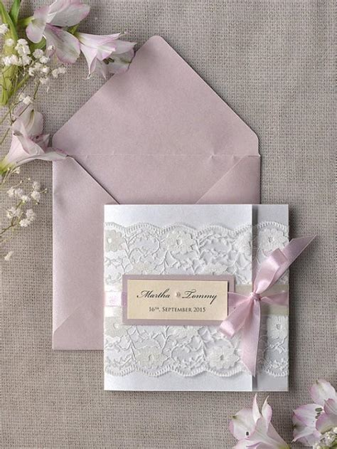 custom folder wedding invitations custom listing 100 pink lace wedding invitation ivory wedding invitation pocket fold wedding