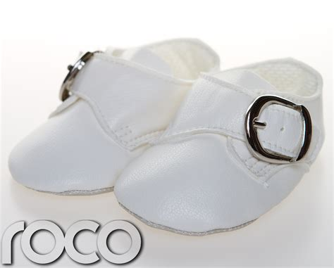baby boy white dress shoes baby boys white special occasion christening buckle soft