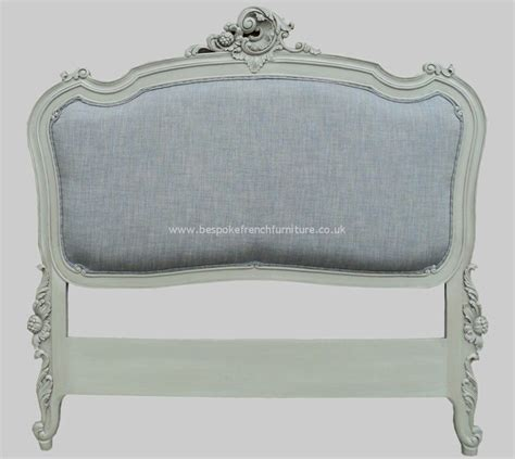 headboard in french rococo upholstered french headboard single
