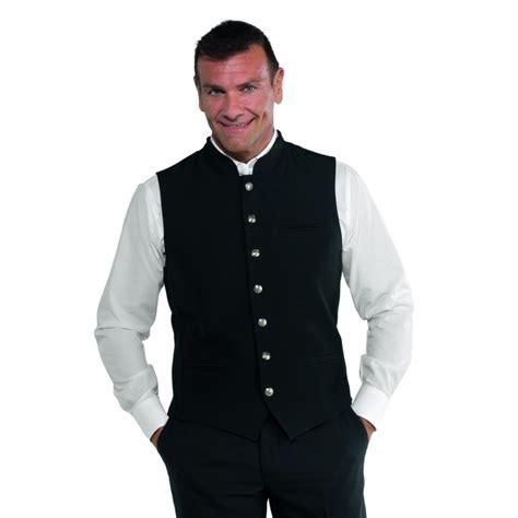 gilet cameriere gilet cameriere salisburgo unisex nero isacco 033401 www