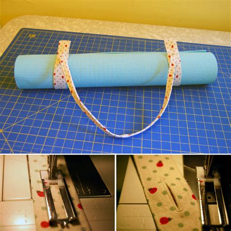 pattern for yoga mat strap how to sew a yoga mat strap yoga sewing projects and craft