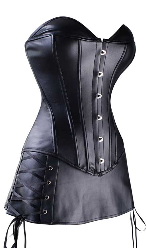 pin corset overbust on