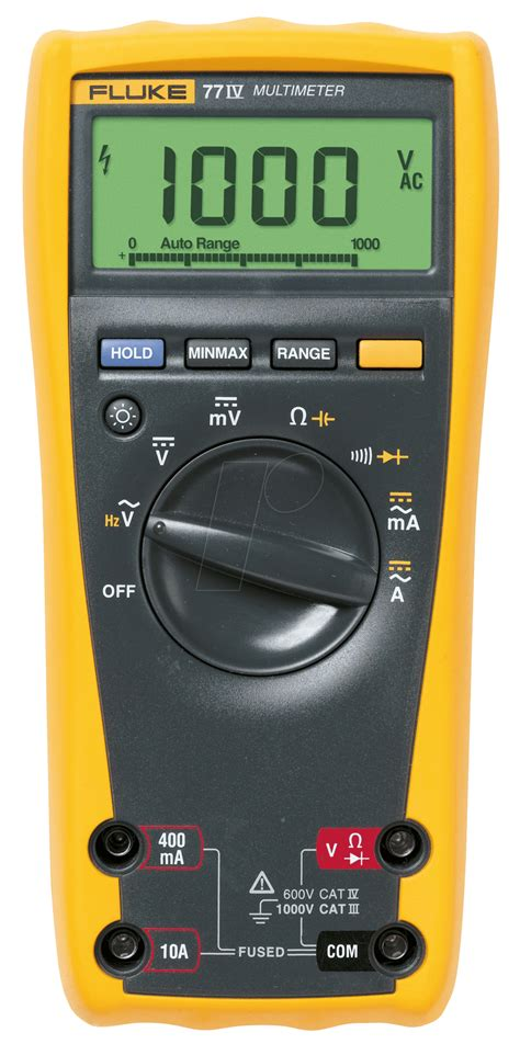 fluke 77 iv digital multimeter 77 iv for field and