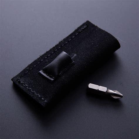 pocket can opener pocket tool bottle can opener leather pocket bit