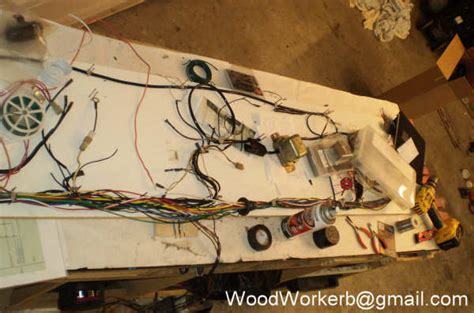 how to make a wire harness board out of a harness
