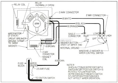 buick wiper motor wiring diagram wiring diagram with