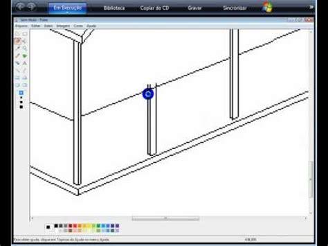 desenhar casas desenhando uma casa no paint