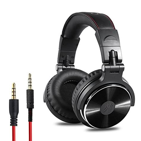best mixing headphones 50 oneodio adapter free closed back ear dj stereo