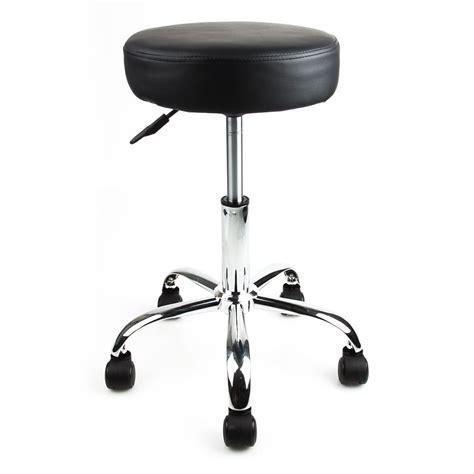Salon Stools On Wheels by Black Rubber Wheel Salon Spa Stool Equipment