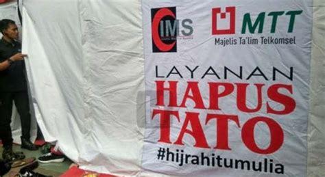 tempat tato di jakarta pusat layanan hapus tato mtt ims bergulir diawali di jakarta
