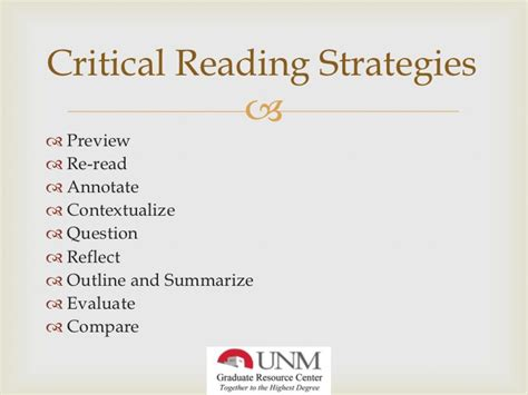 define critical section critical reading and annotation skills