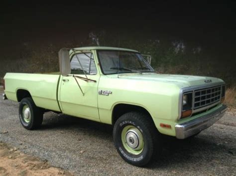 find used 1981 dodge w250 4x4 bed in phenix