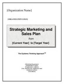 Marketing And Sales Strategy Template by Strategic Marketing Sales Plan Template