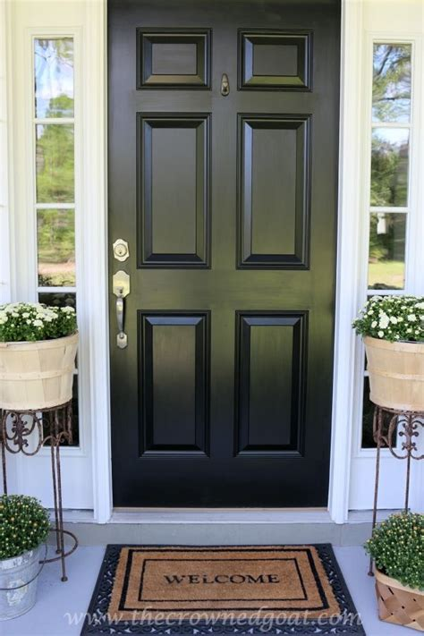 best paint for a front door 30 marvellous best black paint for front door thaduder com