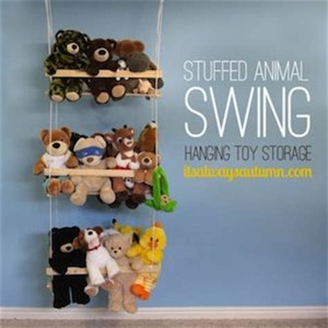 stuffed animal swing stuffed animal swing help your kids stay organized this