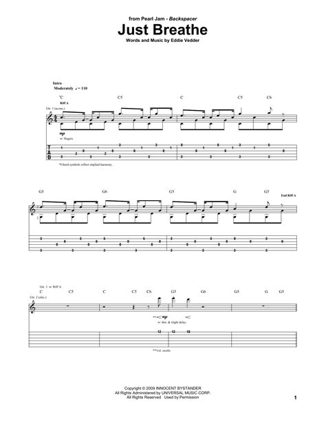 Breath Guitar Chords