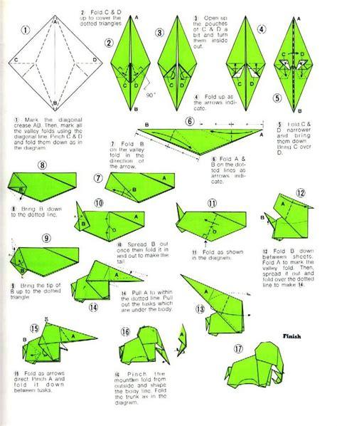 tutorial origami in italiano tutorial origami elefante