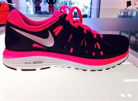 nike neon pink running shoes black and neon pink nike running shoes shoes and