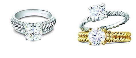 Wedding rings with engraved: David yurman style wedding rings