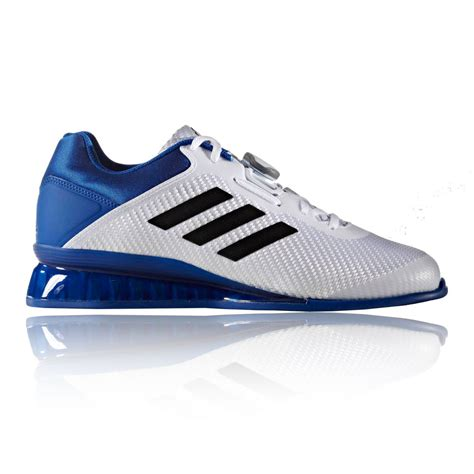 Adidas Ii running shoes adidas leistung 16 ii weightlifting shoes ss17 white trainers