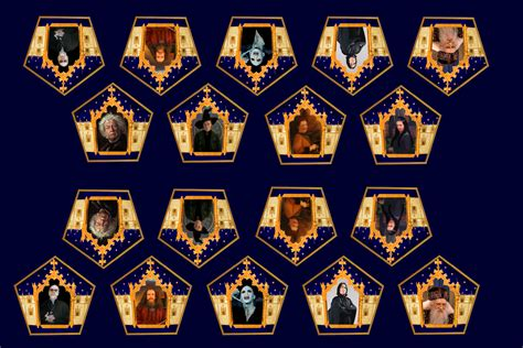 Harry Potter Chocolate Frog Card Template by Chocolate Frog Cards Www Pixshark Images Galleries