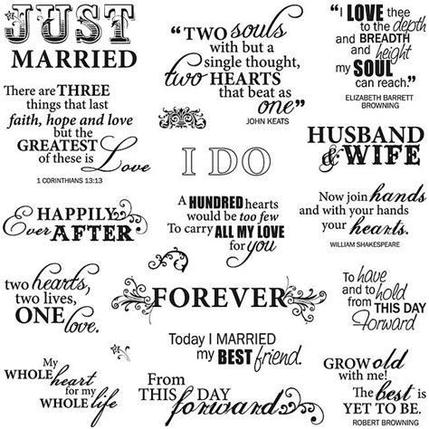 free printable wedding quotes and sayings nice wedding sentiments cool printables pinterest
