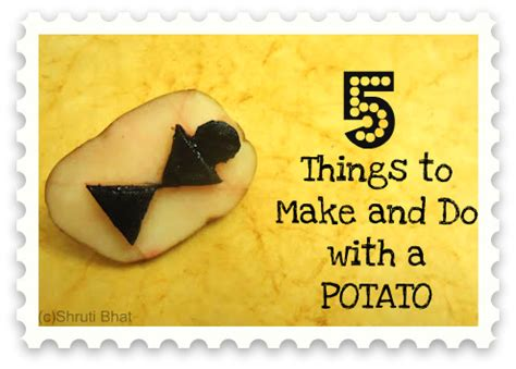 7 Things I Want To Cook by 5 Things To Make And Do With A Potato Artsy Craftsy