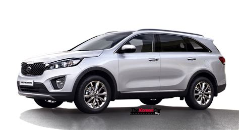 Kia New Sorento Exclusive All New Kia Sorento Interior Pictures Revealed