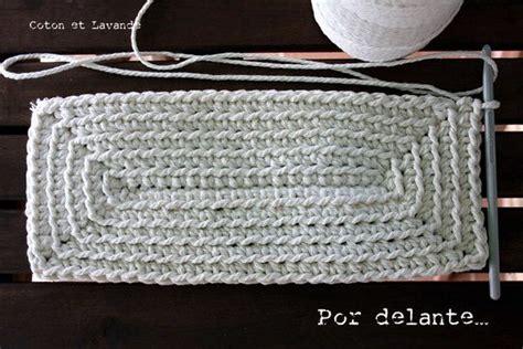 crochet bag base pattern tutorial como tejer una base rectangular trapillo