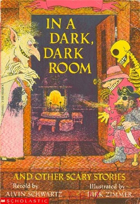 the locked room and other horror stories by in a room and other scary stories alvin schwartz dirk zimmer illustrator