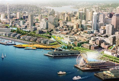 Seattle waterfront transformation prepares to break ground this year Archpaper.com
