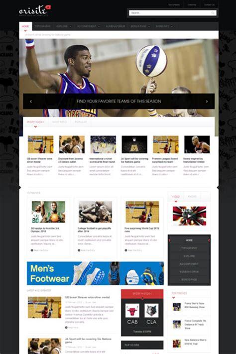 joomla sports template ja orisite joomla template professional joomla sport
