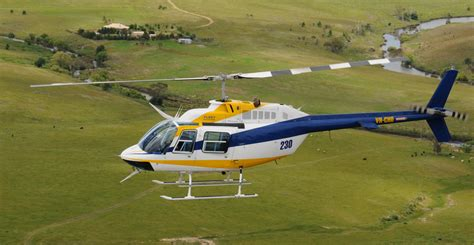 Helicopter Bell 206 the fleet 171 fleet helicopters armidale