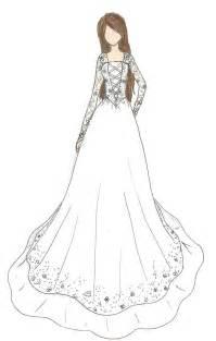 how to design a dress wedding dress design by kiknessa on deviantart