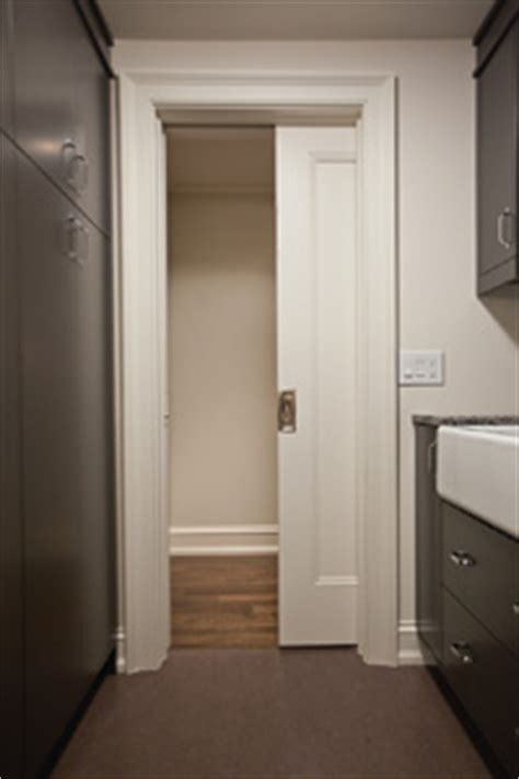 Laundry Room Bathroom Ideas by Benefits Of Installing A Pocket Door On A Sliding Track
