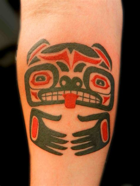 black and red tribal tattoos truro indian aztec american tribal