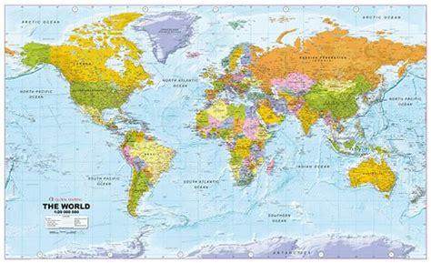 melbourne map centre world maps political flat