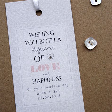 Personalised Wedding Cards by Personalised Wedding Card By Button Box Cards