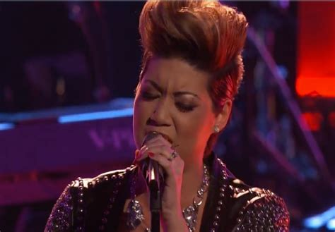 Tessanne Chin Nude - video jamaica s tessanne chin returns to voice stage