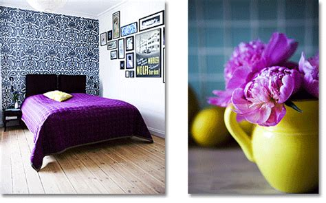 Lavender And Yellow Bedroom by Purple Bedrooms Contepmorary Yellow Purple Bedroom