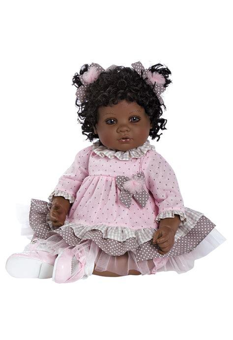 black doll in adora american black baby doll 20 inch curls of